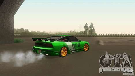 Nissan 240sx для GTA San Andreas вид сзади слева