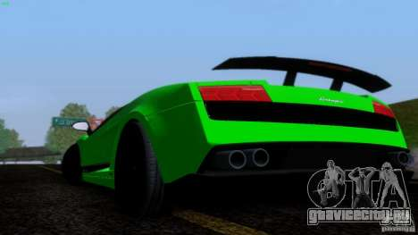 Lamborghini Gallardo LP570-4 Superleggera для GTA San Andreas