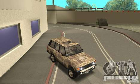 Range Rover County Classic 1990 для GTA San Andreas двигатель