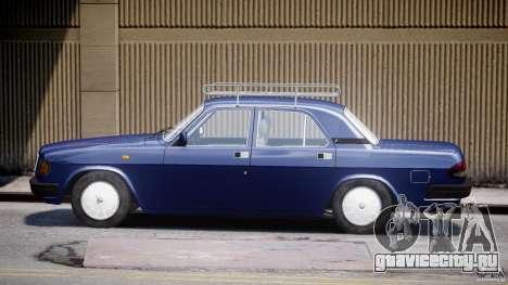ГАЗ 3110 Волга для GTA 4 вид изнутри