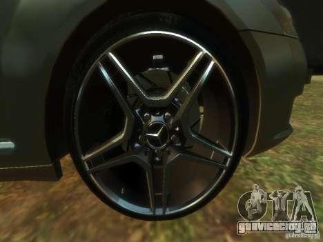 Mercedes-Benz W221 S500 для GTA 4 вид сзади