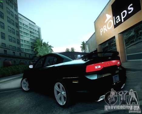 Dodge Charger 2011 v.2.0 для GTA San Andreas вид сверху