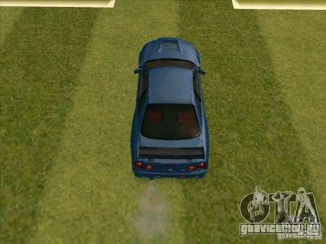 Nissan Skyline GT-R R34 from FnF 4 для GTA San Andreas вид сзади