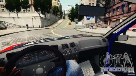 Peugeot 205 Rally для GTA 4 вид сзади