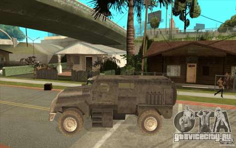 Military Truck для GTA San Andreas вид слева