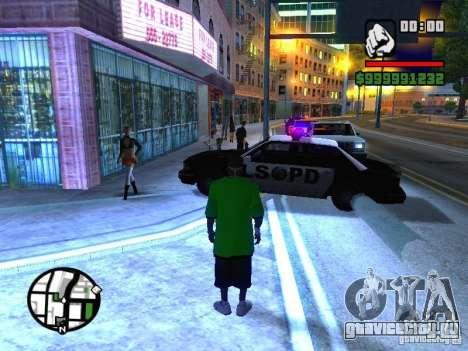 50 cent Skin для GTA San Andreas второй скриншот