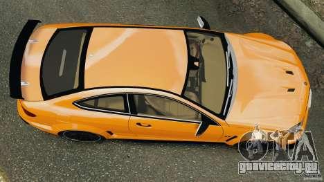 Mercedes-Benz C63 AMG 2012 для GTA 4 вид справа