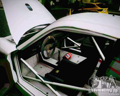 Porsche 911 GT3 для GTA San Andreas вид сверху