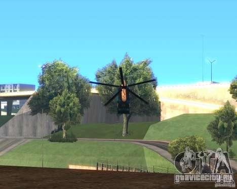 Cops Hoddogeres для GTA San Andreas вид сзади слева