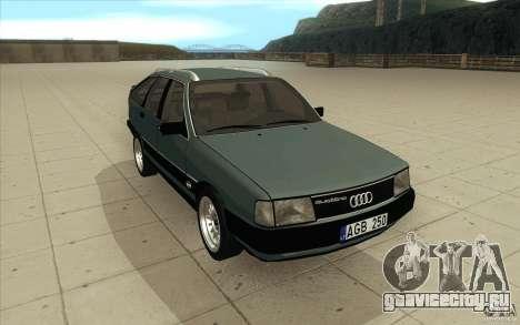 Audi 100 Avant Quattro для GTA San Andreas вид сзади