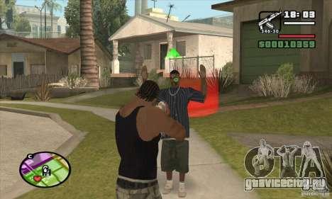 Новый прицел для GTA San Andreas
