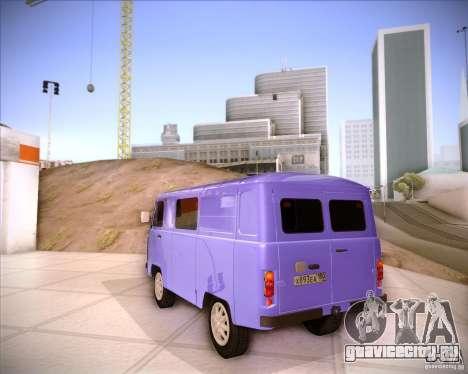 УАЗ 37419-210 для GTA San Andreas вид сзади слева