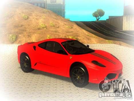 Ferrari 430 Scuderia TT Black Revel для GTA San Andreas вид справа