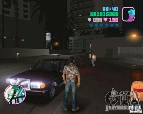 Новый Admiral для GTA Vice City вид сзади слева