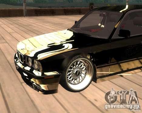 BMW M5 E34 Street для GTA San Andreas вид справа