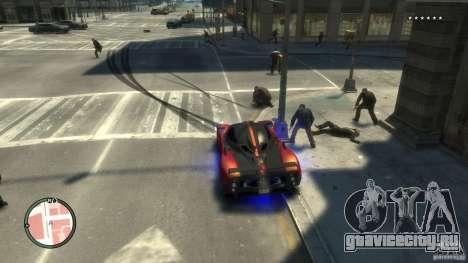 Contagium v1.2b для GTA 4 десятый скриншот