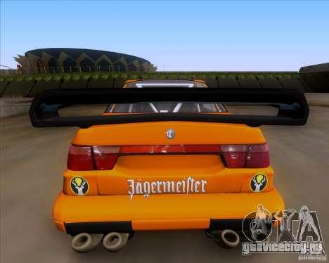 Alfa Romeo 155 v6 DTM Jagermeifter для GTA San Andreas вид справа