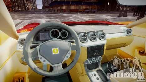 Ferrari 612 Scaglietti custom для GTA 4 вид справа