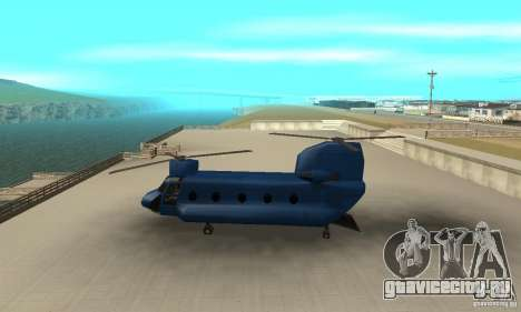 CH-47 Chinook ver 1.2 для GTA San Andreas вид слева