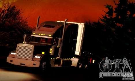 Freightliner Classic XL для GTA San Andreas вид сверху