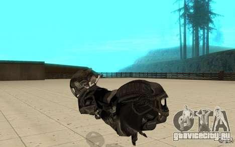 Bike predator для GTA San Andreas вид сзади слева