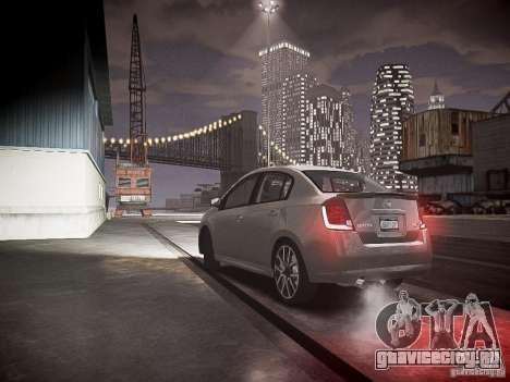 Nissan Sentra SE-R Spec V для GTA 4 вид слева