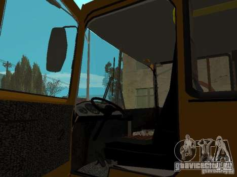 ПАЗ 32054 для GTA San Andreas вид справа