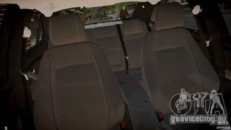 Saab 9-3 Aero X FINAL для GTA 4 вид изнутри