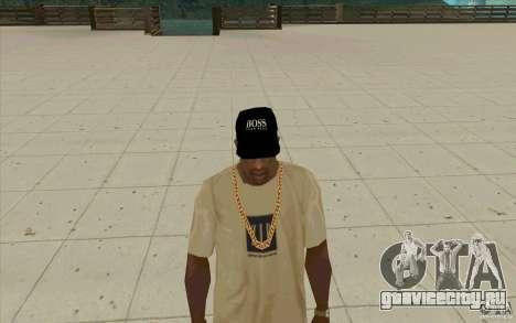 Кепка boss black для GTA San Andreas