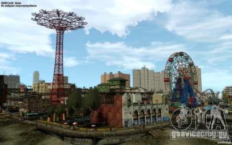 Меню и экраны загрузки Liberty City в GTA 4 для GTA San Andreas четвёртый скриншот