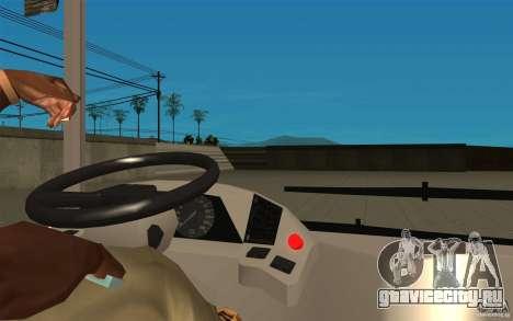 ЛАЗ-А183 City Laz для GTA San Andreas вид сзади