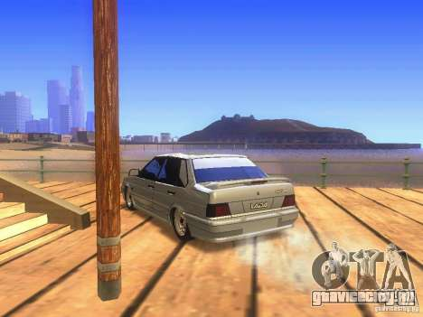 VAZ 2115 для GTA San Andreas вид сзади слева
