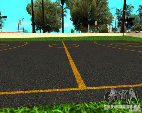 HQ Баскетбольная площадка для GTA San Andreas третий скриншот
