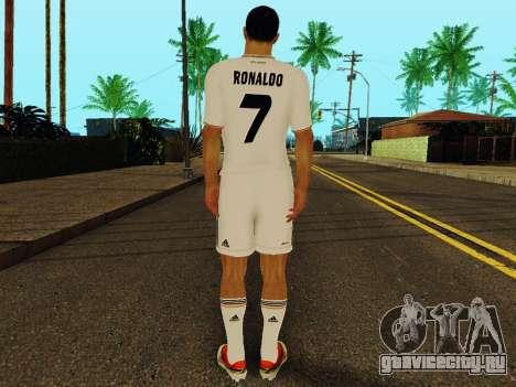 Криштиану Роналду v1 для GTA San Andreas четвёртый скриншот