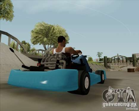 Kart для GTA San Andreas вид слева