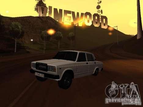 ВАЗ 2107 Azeri full для GTA San Andreas
