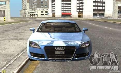 Audi TT 2006 для GTA San Andreas вид сзади слева