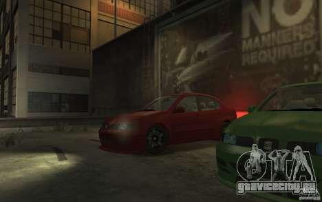 Seat Toledo 1.9TDi Sedan для GTA 4 вид справа
