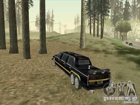 Limousine для GTA San Andreas вид справа