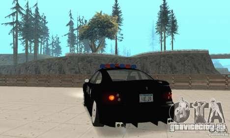 Pontiac GTO 2004 Cop для GTA San Andreas вид слева