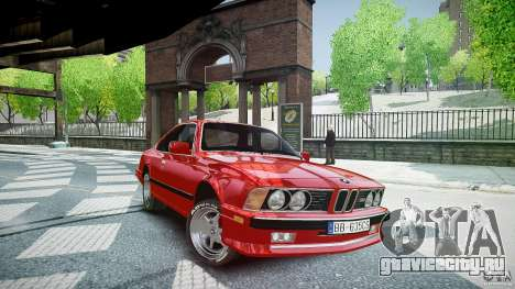 BMW M6 v1 1985 для GTA 4