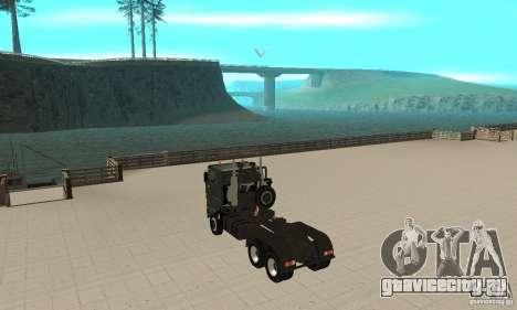 КамАЗ 65226 Tai v1.1 для GTA San Andreas вид справа