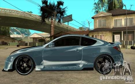Hyundai Genesis Tuning для GTA San Andreas вид слева