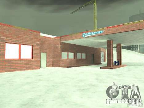 Снег v2.0 для GTA San Andreas десятый скриншот
