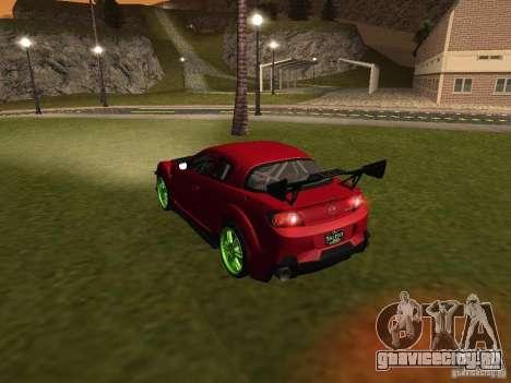 Mazda RX-8 R3 Tuned 2011 для GTA San Andreas колёса