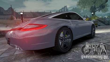 Porsche Targa 4S 2009 для GTA 4 вид справа