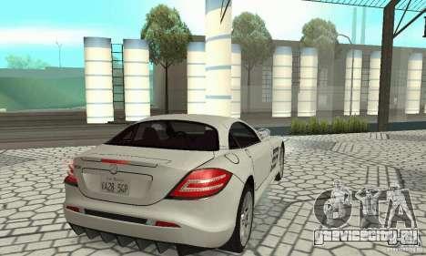 Mercedes-Benz McLaren V2.3 для GTA San Andreas вид сзади слева