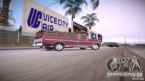 Ford F-100 1981 для GTA Vice City вид слева