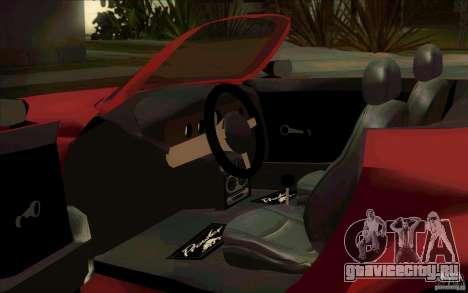 Plymouth Prowler для GTA San Andreas вид сзади