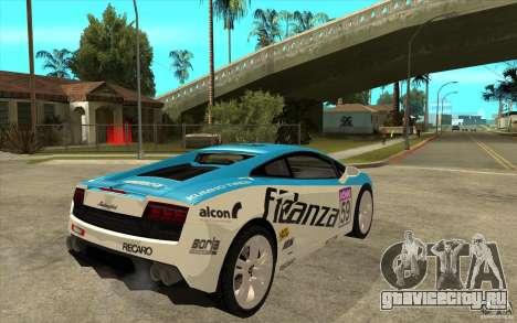 Lamborghini Gallardo LP560 для GTA San Andreas вид справа